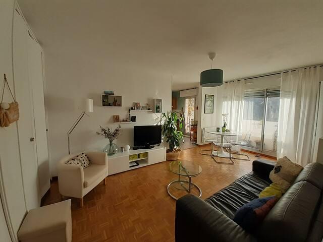 Appartement au calme dans le centre de Marseille
