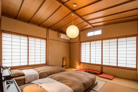 [Japanese traditional room with low bed for 2pp] - Yamanouchi-machi