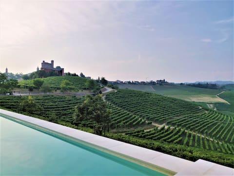 Villa Marenca, scenic views of Barolo