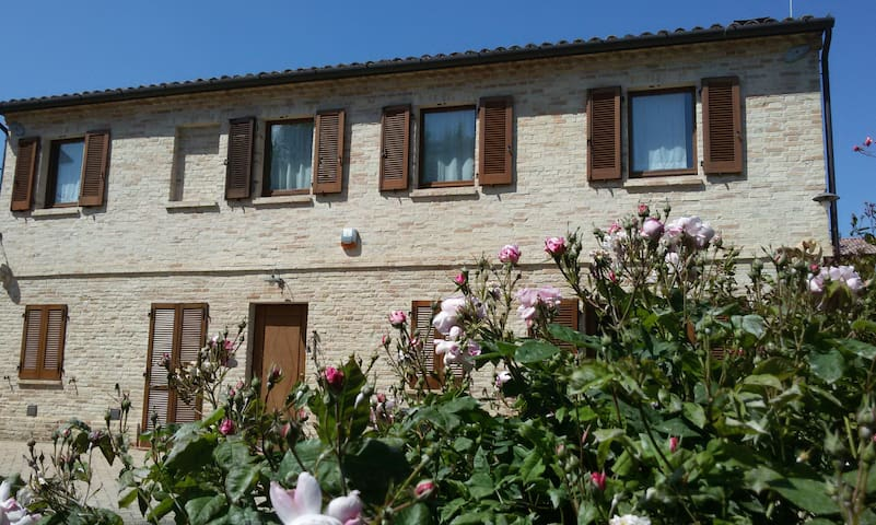 B&B Casarmonica, Camera Ninfea - Osimo - Bed & Breakfast