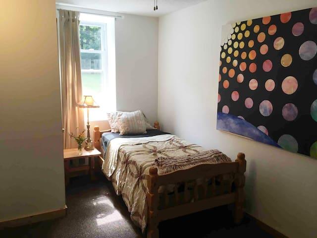 Single or Bunk Room.