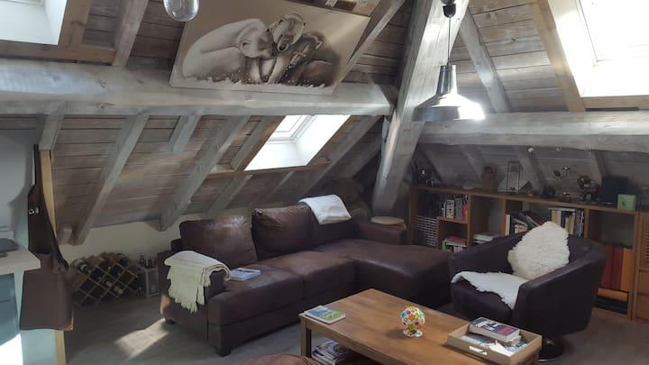 Le bercail sous les toits