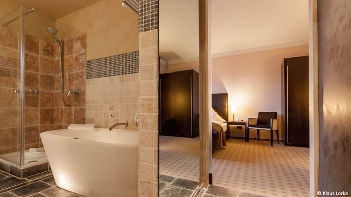 Traumhaftes Zimmer de luxe im Gästehaus ZWO
