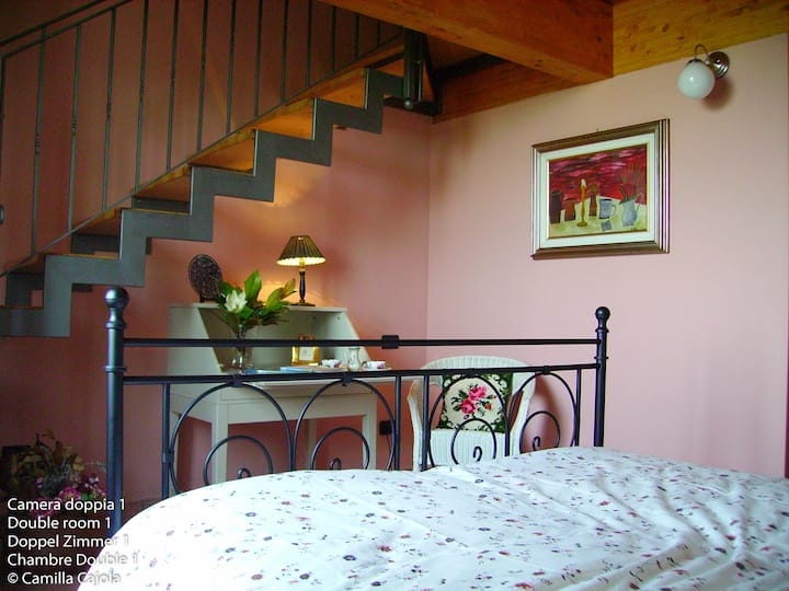 Villa auf den Hügeln von Gardasee