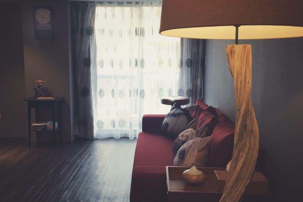 Common space : 客廳 /living room /salon