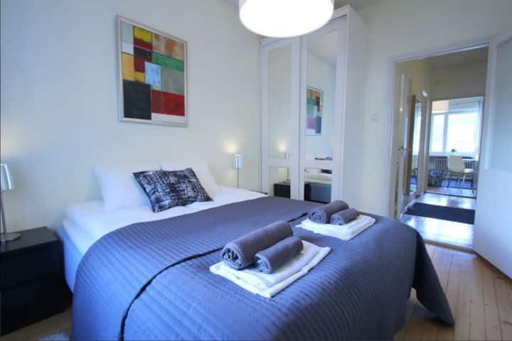 Nice 1BR on the top floor At The Heart Of Helsinki