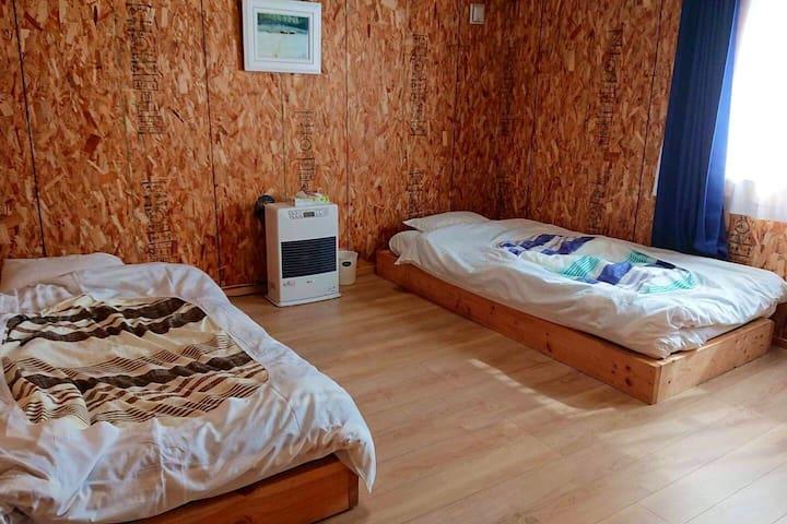 Naya lodge.This lodge is a renovated barn.2PPL