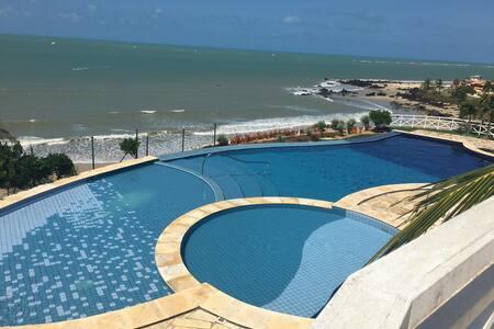 Apartamento de um quarto com vista para o mar - Parnamirim - Appartamento