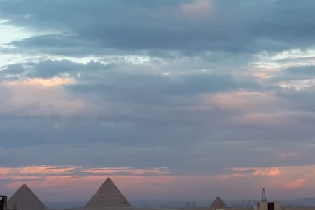 Welcome to Giza pyramids view