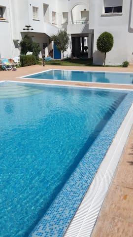 Duplex Lina. Farniente, piscine et plages - Sidi Bouzid - House