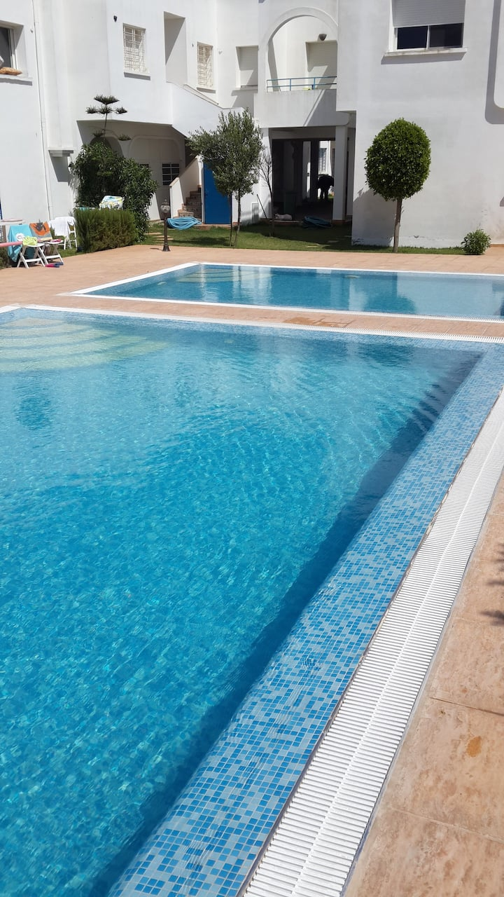 Duplex Lina. Farniente, piscine et plages