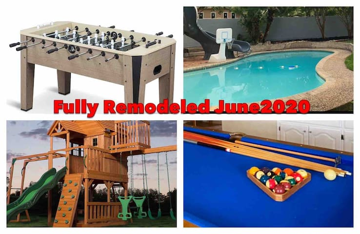 *SWIMMING POOL w/Slide & Playground Great Location