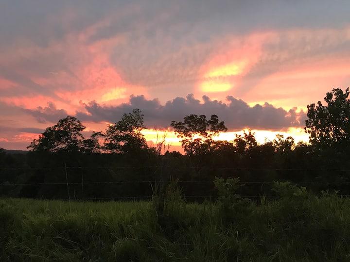 Sunset Gem near Rabbit Hash, KY