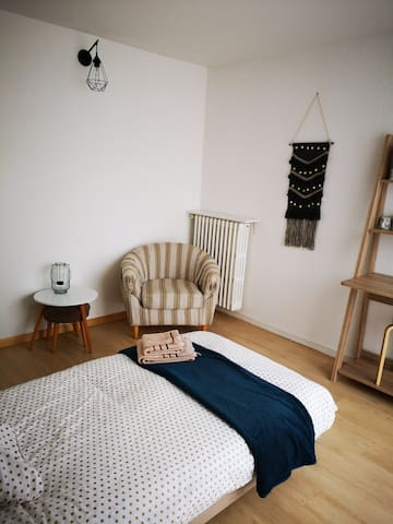 chambre cocooning 5mn  centre ville