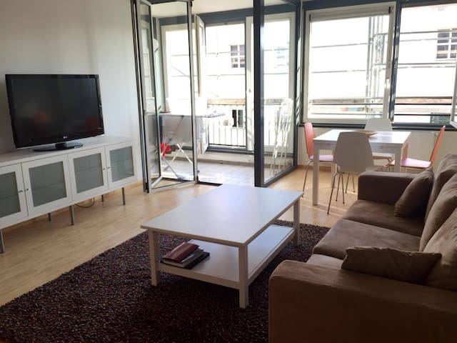 3 rooms Apart. 10 min to city center for 6 People - München - Apartment