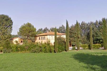 Appartamento in casolare toscano - Buonconvento - Apartament