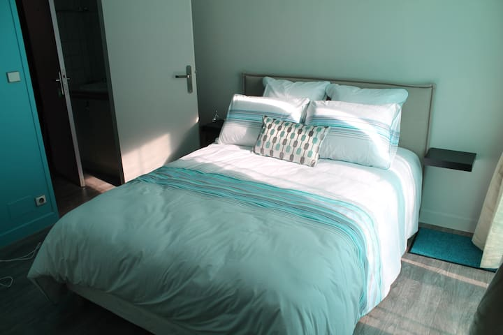 CHAMBRE ACCES DIRECT A PARC ARBORE - Gommerville - House