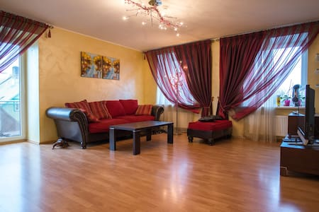 Cozy Apartment in The  Centre of city (80 m2)