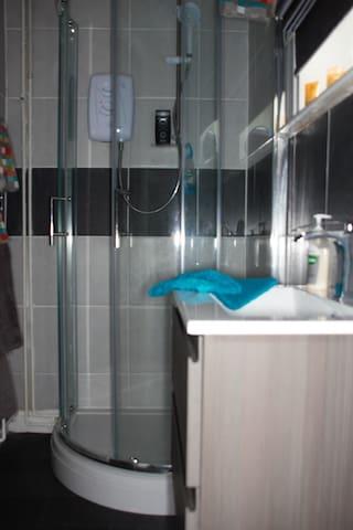 Private En Suite Shower bathroom.