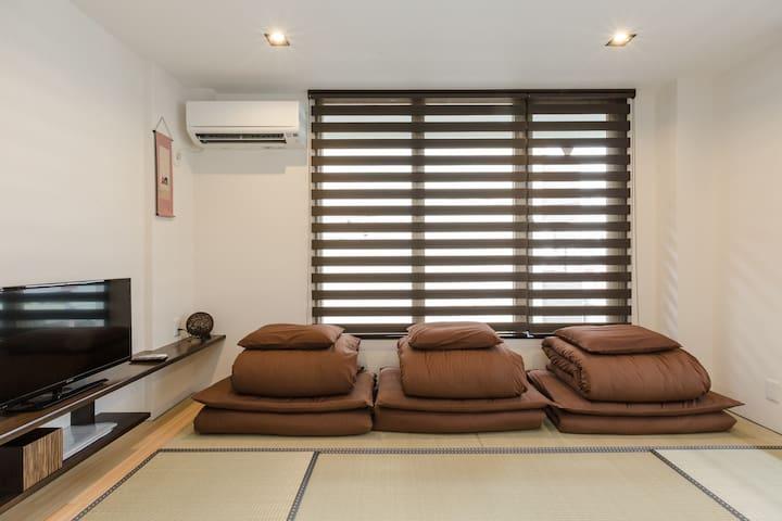 京都西院一房一厅独立日式公寓(201 )/同楼多套/中文OK