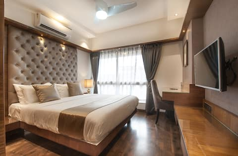 ❤ Boutique Open Kitchen Apartment Near Bandra west