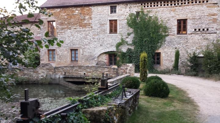 Moulin de Besseuil, à Bonnay 71460