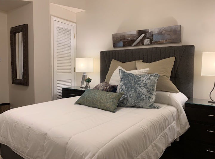 2BDRM Executive Suite mins from Downtown w/parking