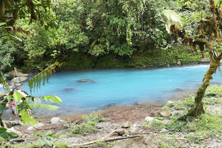 Piuri Río Celeste Costa Rica.