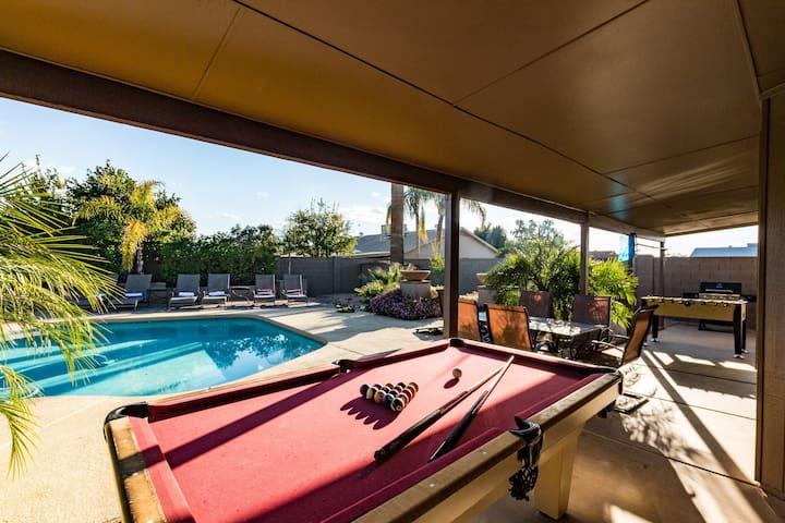 Scottsdale Sleep 24 Villa w/Heated Pool,Spa & More