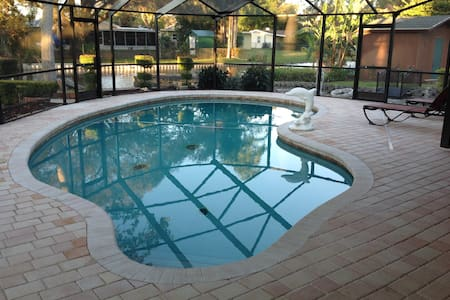 Our Home is your home with a beautiful heated pool - Winter Haven - Haus