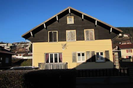 maison de famille, vue sur les pistes de ski - Gérardmer