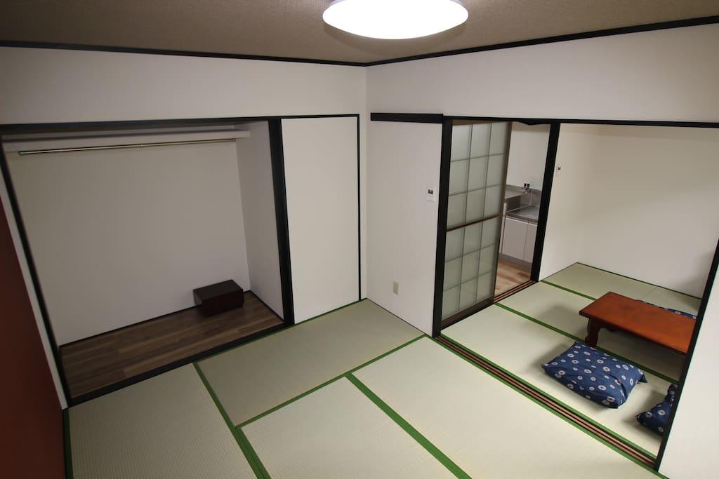 Japanese tatami room!