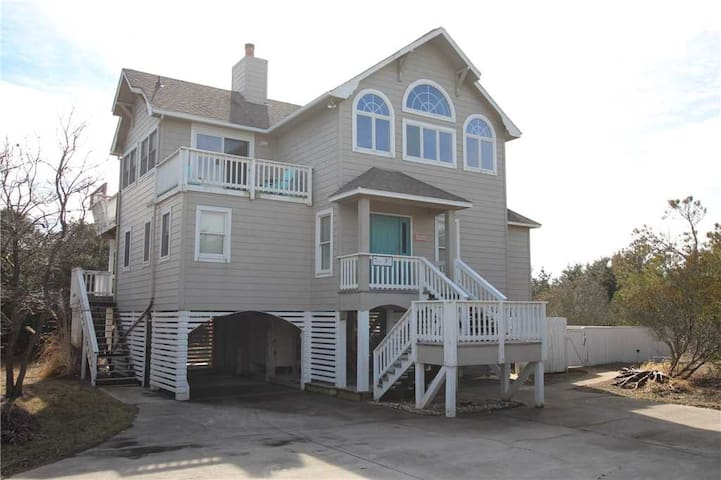 #SP1: OCEANSIDE Home in Corolla w/PrivatePool & HotTub