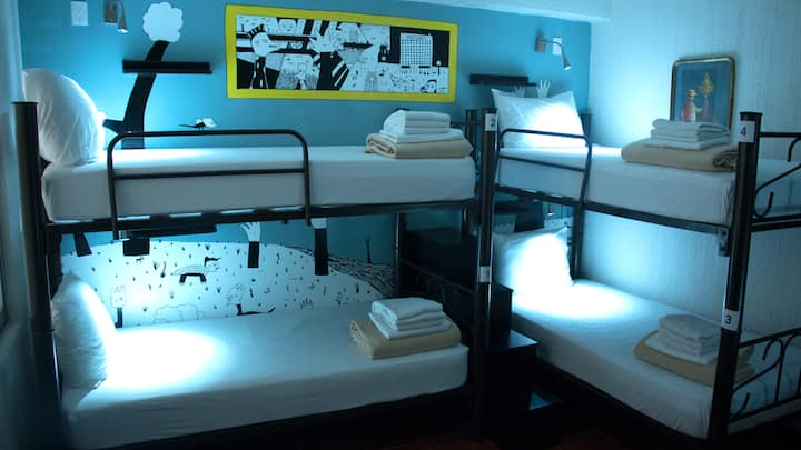 Fénix Beds: Bed in a 6 bed mixed dormitory room
