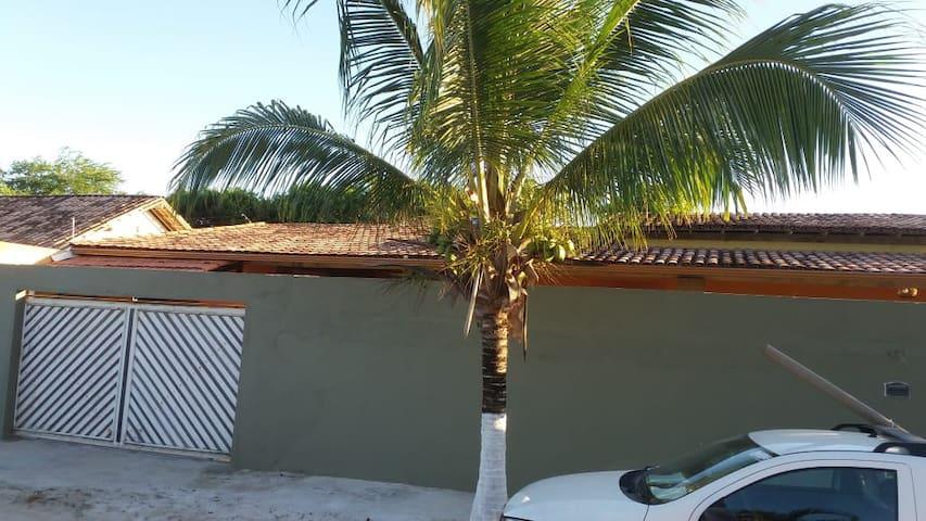 Casa da Sol com Piscina em Cabrália