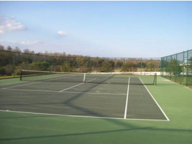 Highgate Park tennis courts.