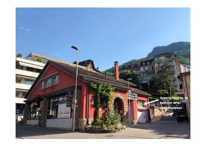 Loft en duplex au centre de Montreux
