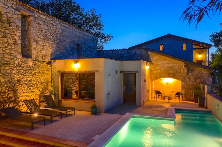 Domaine de Saussignac, piscine, spa, sauna, clim
