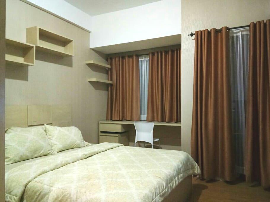 Salah 1 kamar yang tersedia