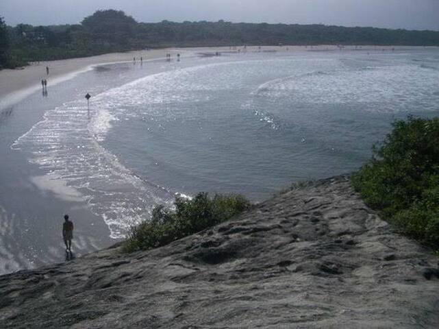 Casa de Praia  fica a 300m da praia Pé na Areia