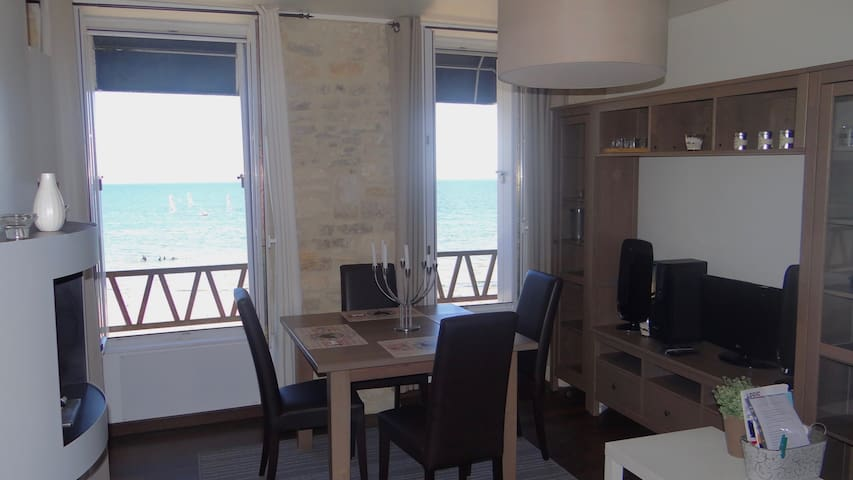 Cosy apartment seen exceptional - Grandcamp-Maisy - Byt