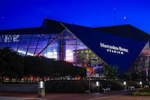 1.1 Miles to Mercedes-Benz Stadium - Home of Super Bowl 2019!