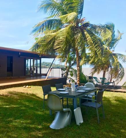 Belle villa d'architecte T4 avec vue sur mer