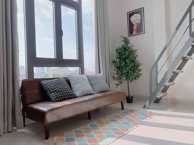 ☆Sky Apartment☆ with Free Cleaning Weekly