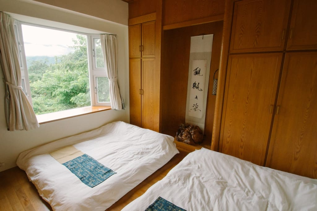 Japanese style family room wisdom garden yuli bed and for Bed and breakfast tokyo