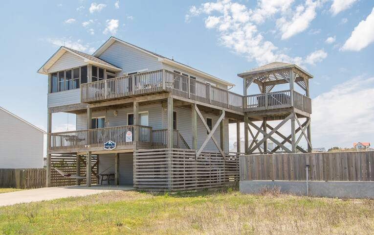 K1704 Carolina Kai. Private Pool, Ocean Views, Gazebo w/Hot Tub, Free WiFi!!! | 4 Bedroom, 3 Bathroom