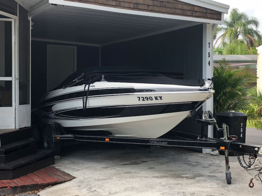 Boat rental available onsite, see listing for details.