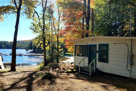 The Green Trim on Beautiful Brant Lake