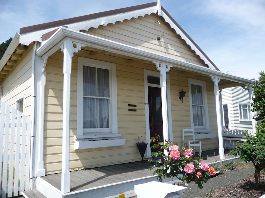 Strupak Cottage was built in 1866 but has been completely renovated for modern living.