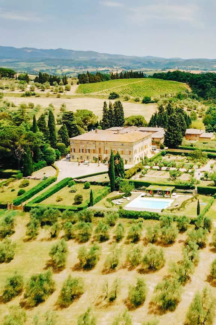 Gorgeous Monte Chiaro Organic Winery